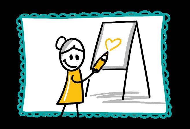 Trainingen & workshops Zakelijk Tekenen door Sandra Mesman - Betekenisvolle Communicatie