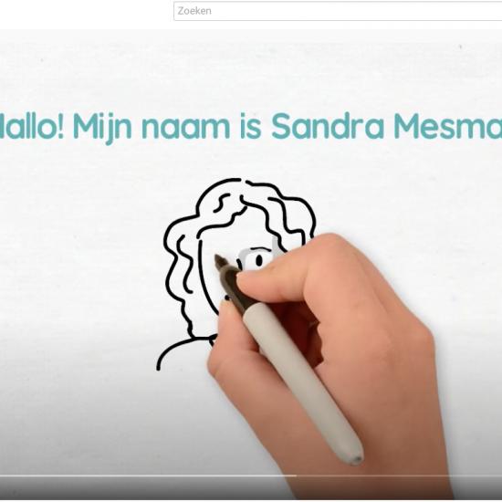 Digitale whiteboard animatiefilm als voorstelvideo gemaakt in Videoscribe door Sandra Mesman