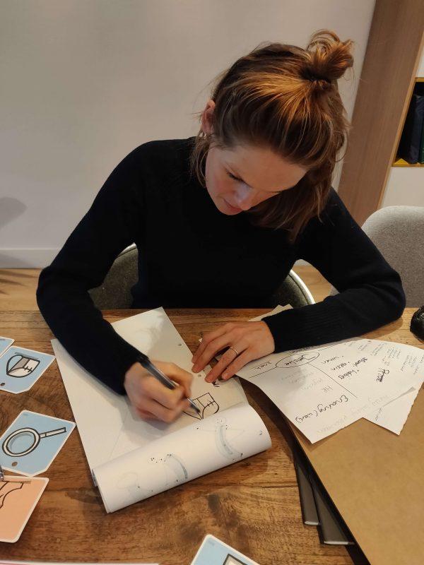 Leer ook zakelijk tekenen tijdens een incompany training van Sandra Mesman