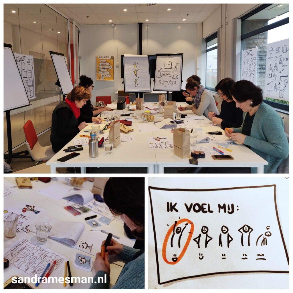 Training Zakelijk Tekenen voor je hele team incompany - Sandra Mesman