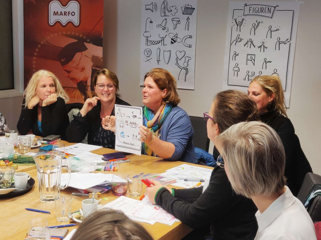 Incompany training zakelijk tekenen flitsworkshop
